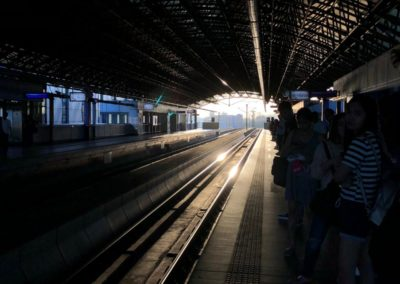 train Manila
